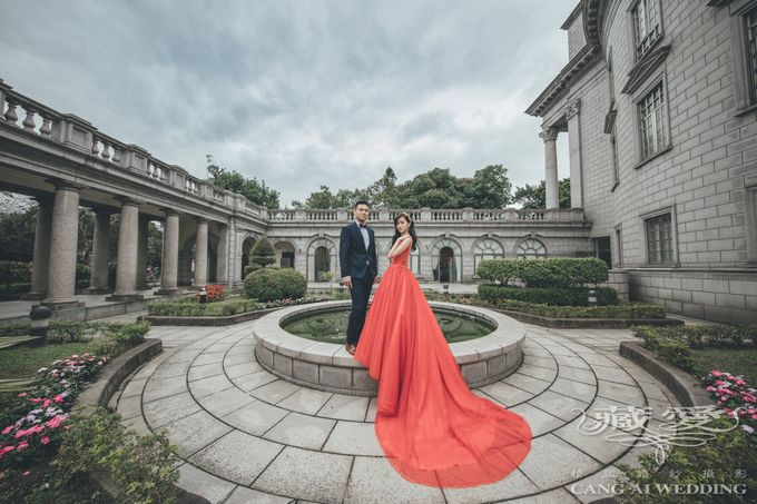 Taipei University by Cang Ai Wedding - 003