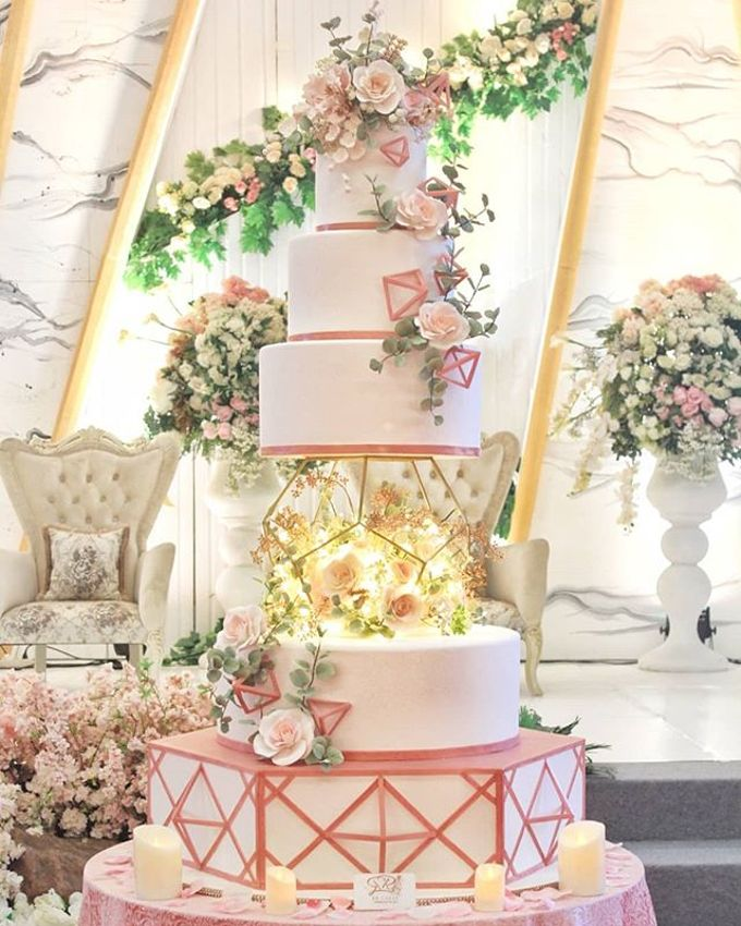 Wedding Cake - Real Wedding by RR CAKES - 004