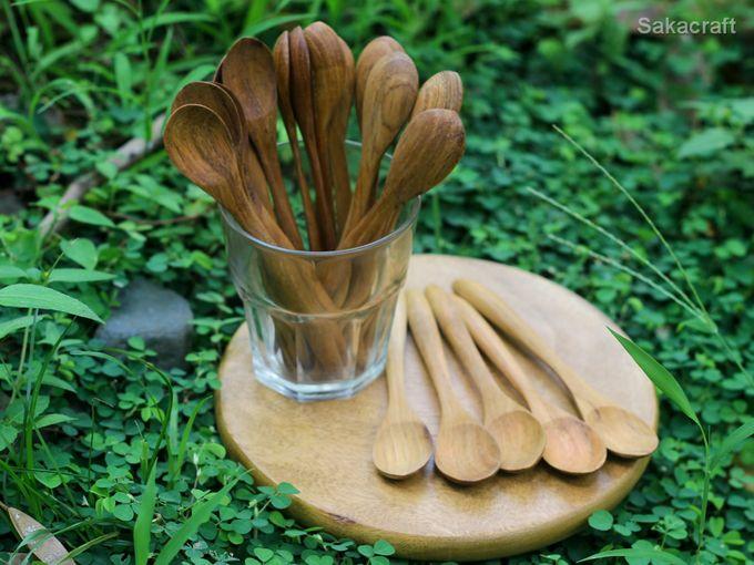 Teakwood Medium Spoon by sakacraft - 003