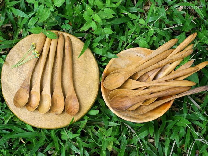 Teakwood Medium Spoon by sakacraft - 004
