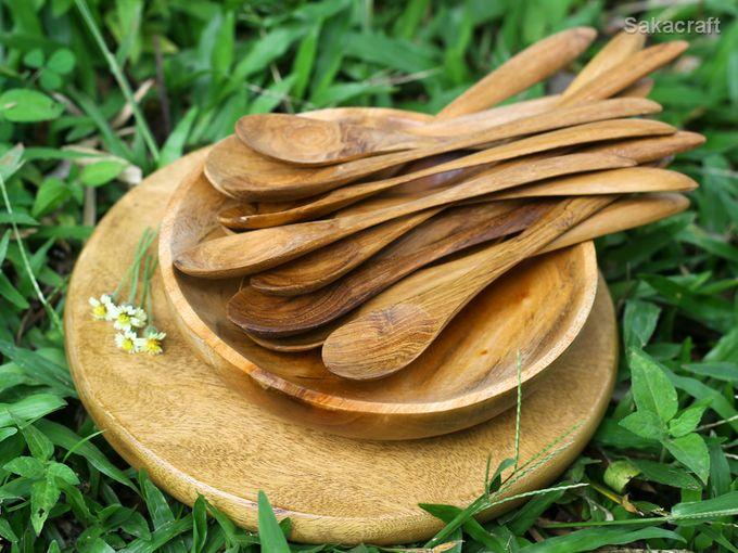 Teakwood Medium Spoon by sakacraft - 002