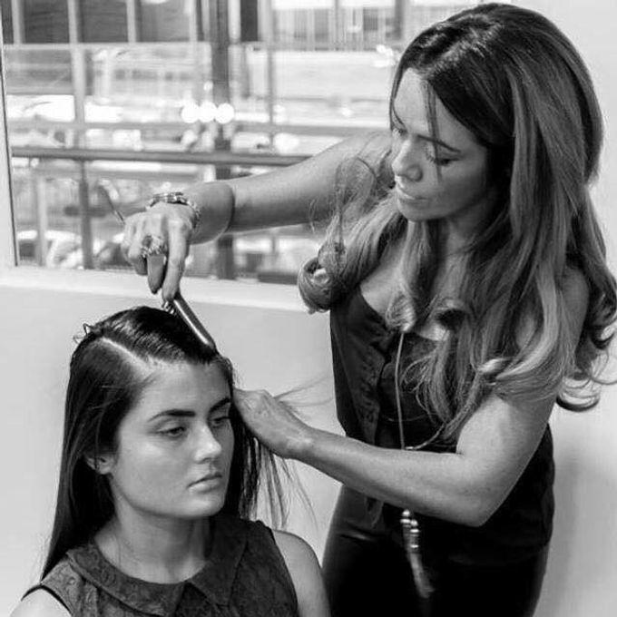 Bridal & events hair  by Danielle Marouzet Hair Design - 016