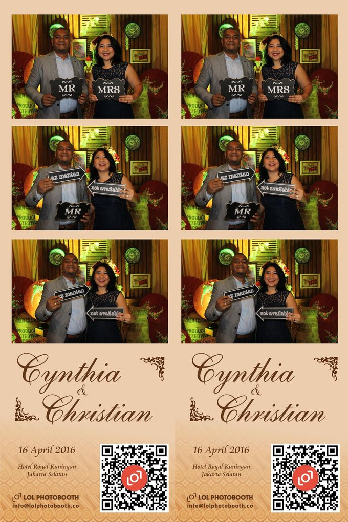 Wedding of C & C by lolphotobooth.co - 003