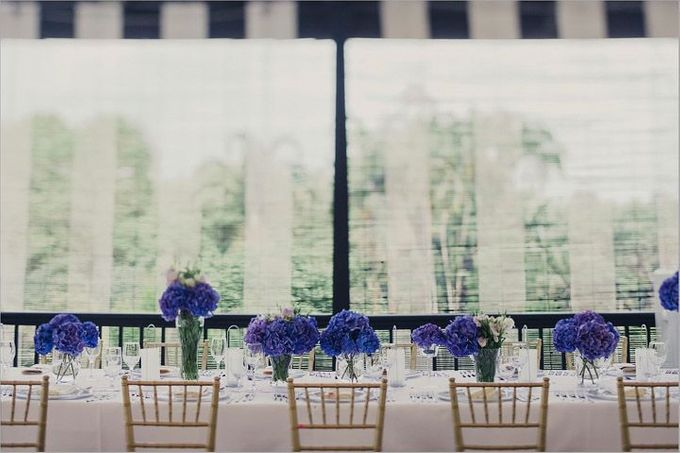 Decoration - Long tables set-up by Spellbound Weddings - 004