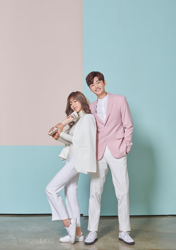 Korea Pre-Wedding Photoshoot - Studio 29 by Willcy Wedding by Willcy Wedding - Korea Pre Wedding - 036