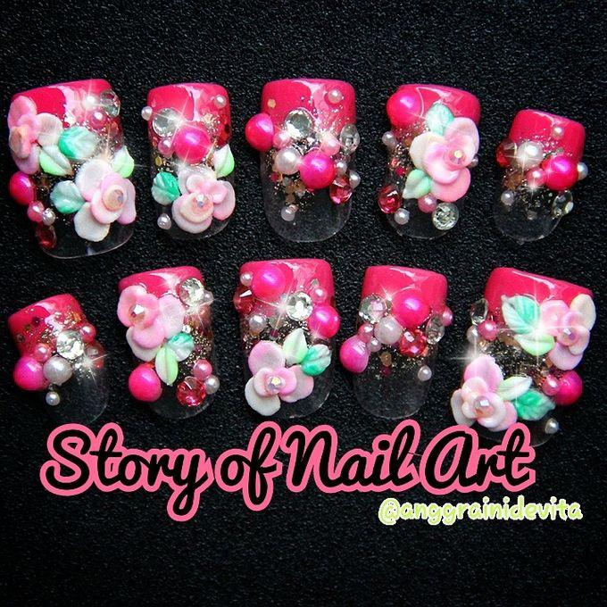 Fake Nails by Story of Nailart - 023