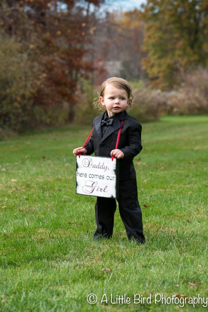 Halloween Wedding by A Little Bird Photography by Jamie Lynn - 007