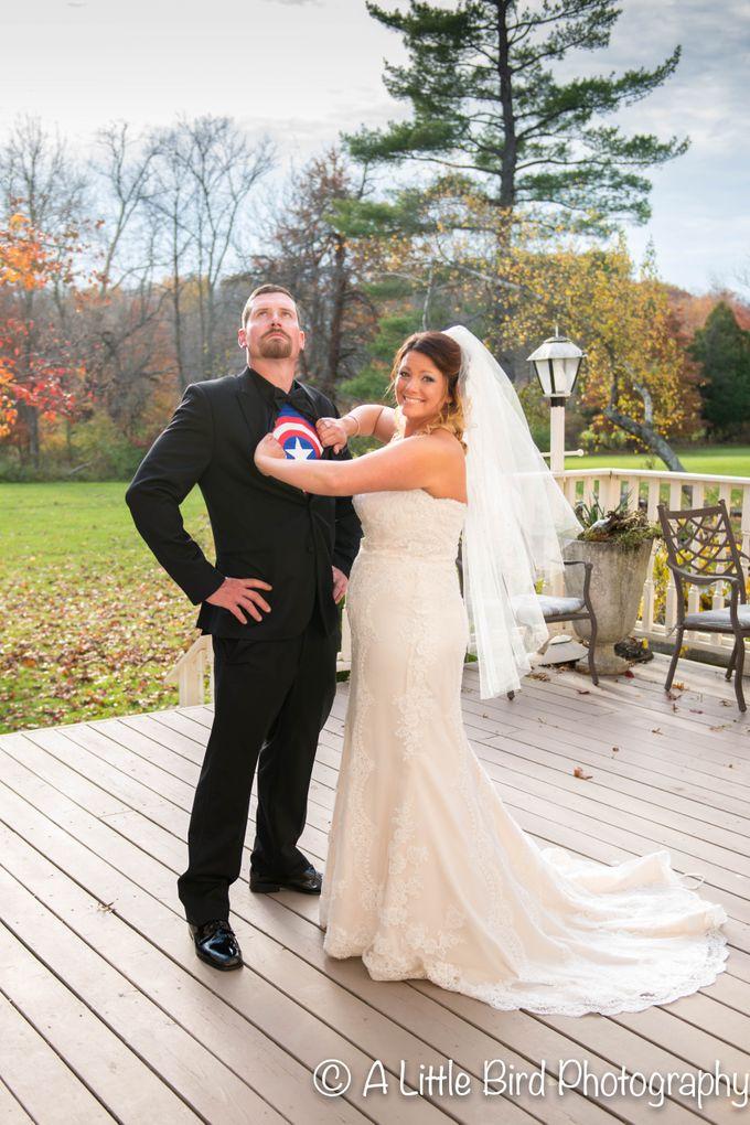 Halloween Wedding by A Little Bird Photography by Jamie Lynn - 029