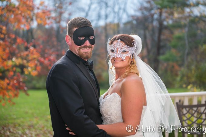 Halloween Wedding by A Little Bird Photography by Jamie Lynn - 026