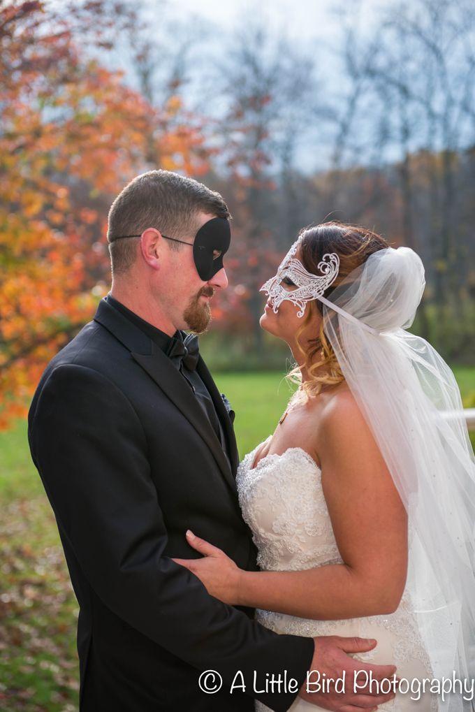 Halloween Wedding by A Little Bird Photography by Jamie Lynn - 027