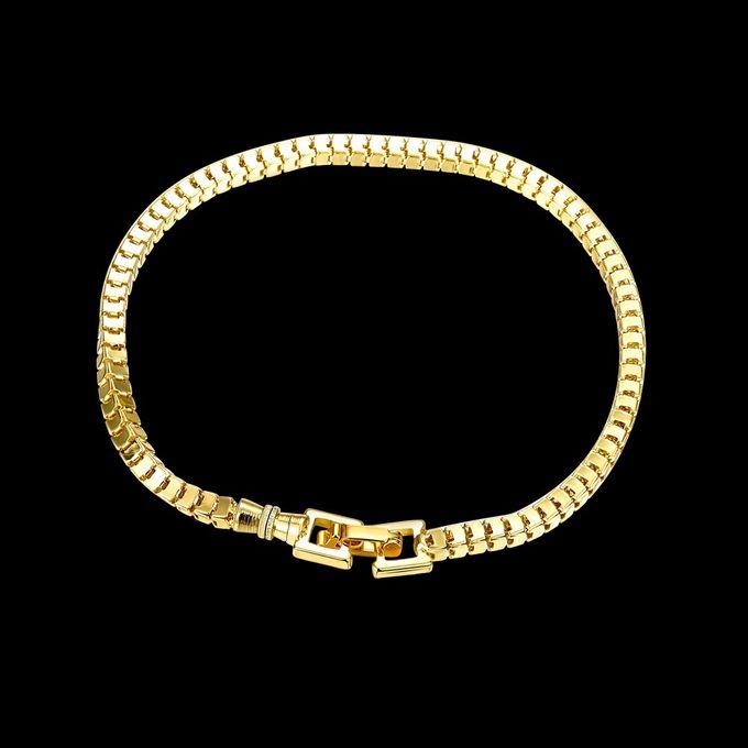 TIARIA Chain Gold Bracelet Perhiasan Gelang Emas by TIARIA - 004