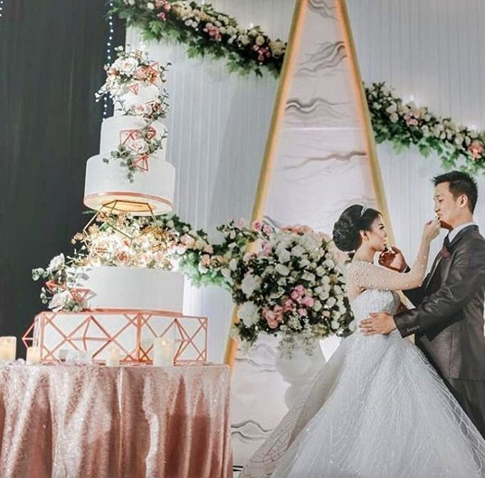 Wedding Cake - Real Wedding by RR CAKES - 003