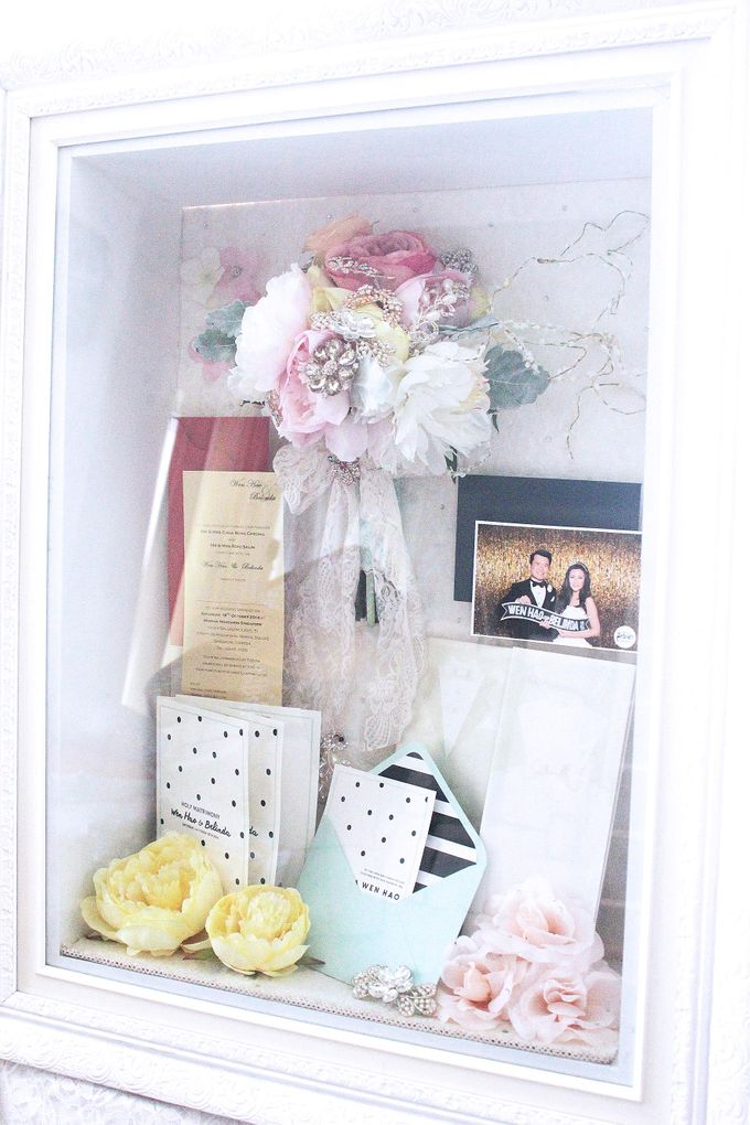 Frame Bouquet by Cup Of Love Design Studio - 013