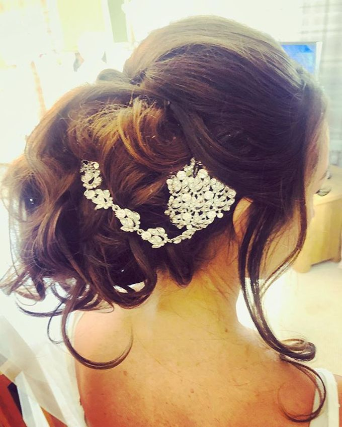 Bridal & events hair  by Danielle Marouzet Hair Design - 017