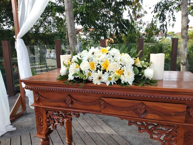 Ceremony Set Up Balinese Touch by Million Rose Event Bali - 002