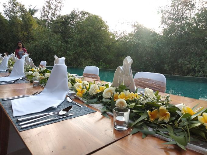 Table Set Up by Million Rose Event Bali - 002
