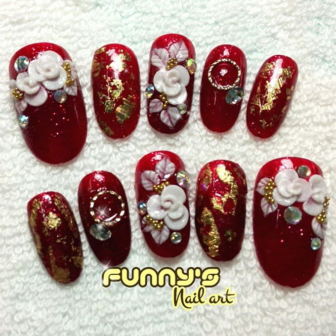 Prewedding , Sangjit by Funny's Nail art - 001