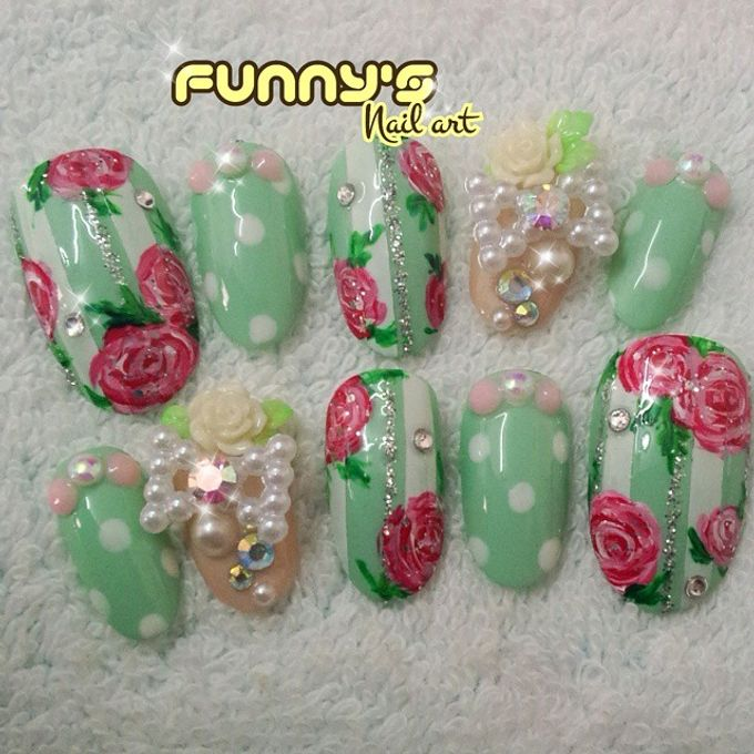 Prewedding , Sangjit by Funny's Nail art - 002