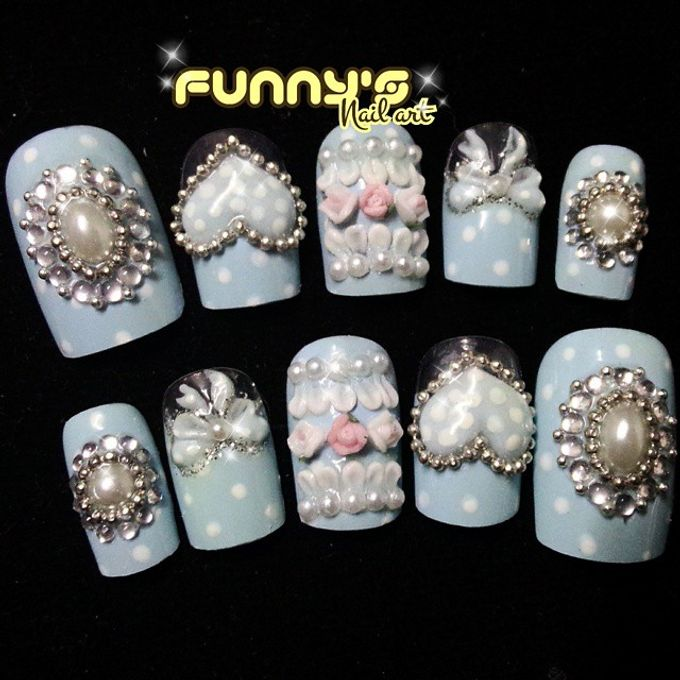 Prewedding , Sangjit by Funny's Nail art - 003