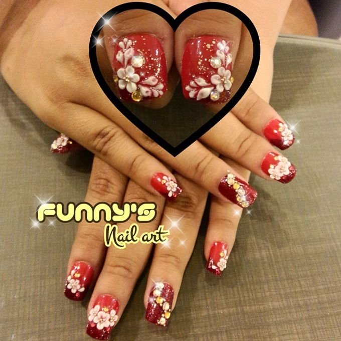 Prewedding , Sangjit by Funny's Nail art - 006