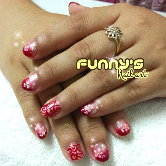 Prewedding , Sangjit by Funny's Nail art - 007
