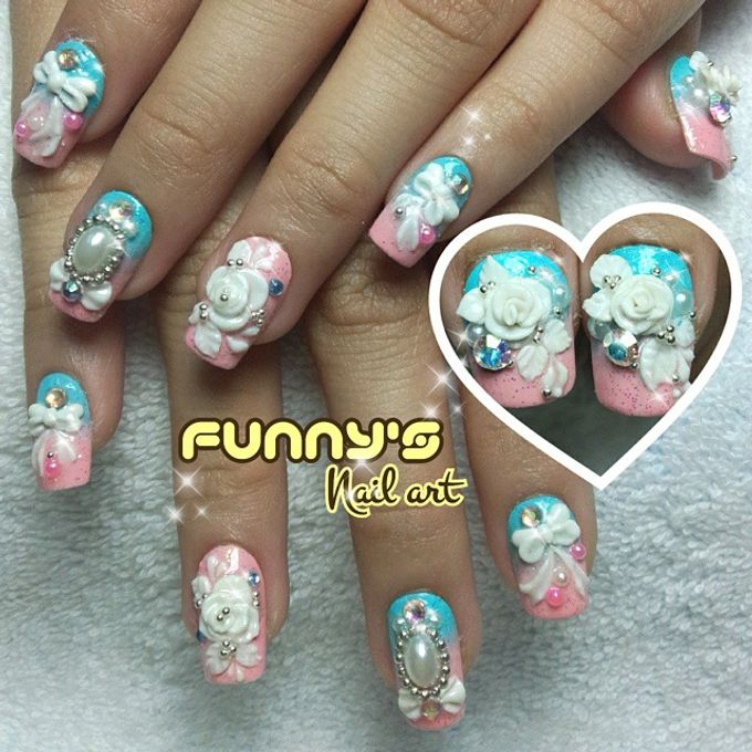 Prewedding , Sangjit by Funny's Nail art - 009