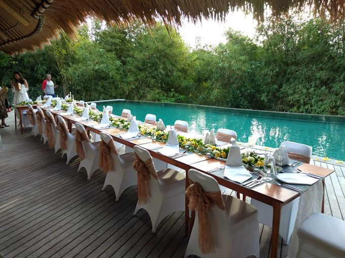 Table Set Up by Million Rose Event Bali - 001