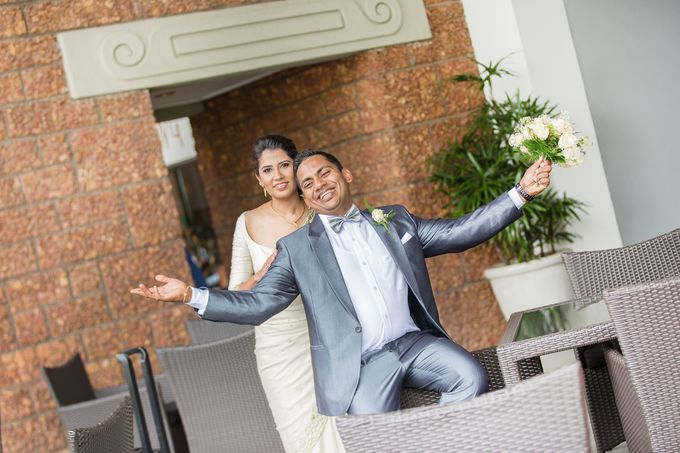 Wedding of Roshani & Charith by DR Creations - 034