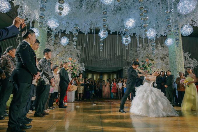 Maurice & Natasya Jakarta Wedding by Ian Vins - 036