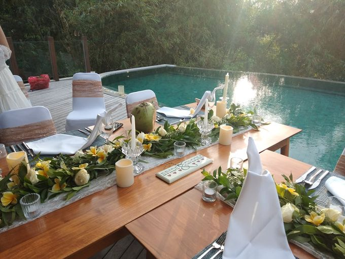 Table Set Up by Million Rose Event Bali - 003