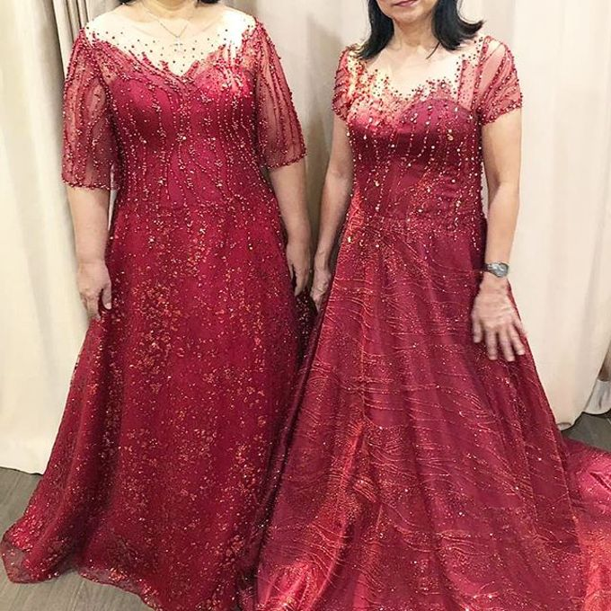 Mom  and sister gown by SAVORENT Gown Rental - 015