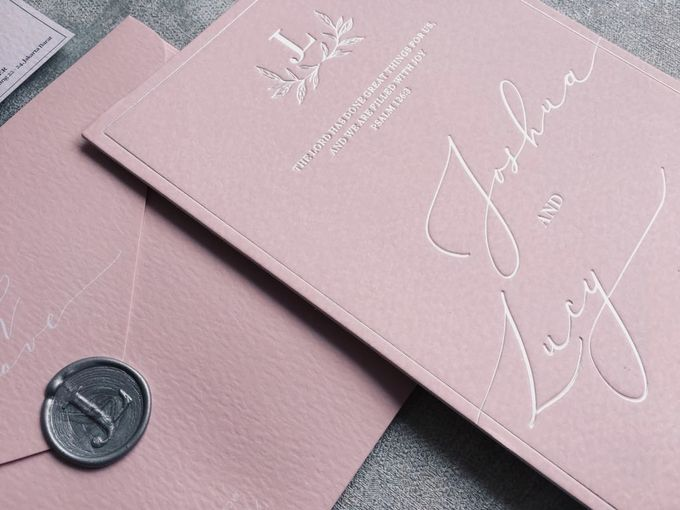 Dusty Pink by Trouvaille Invitation - 002