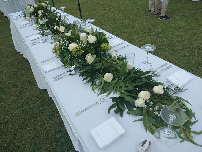 Reception Set Up by Million Rose Event Bali - 001