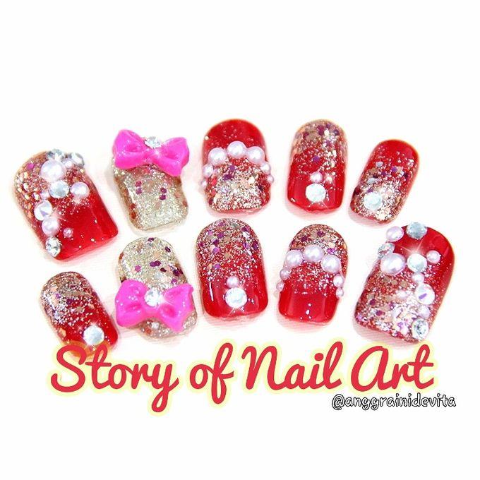 Fake Nails by Story of Nailart - 018