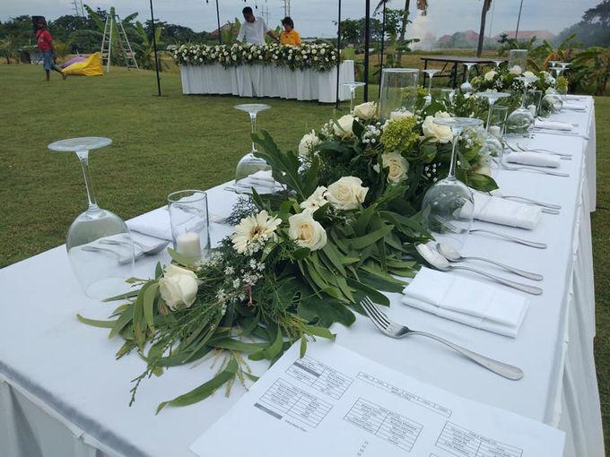 Reception Set Up by Million Rose Event Bali - 004