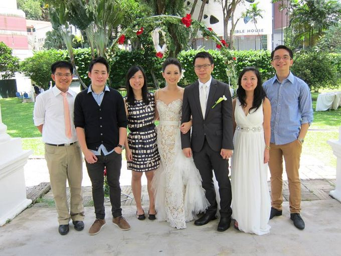 Armenian Church, with Indonesian songs - Edwin & Anseina Wedding by Ring of Blessings - 001