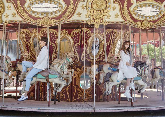 Korea Pre-Wedding Photoshoot - Studio 29 by Willcy Wedding by Willcy Wedding - Korea Pre Wedding - 038