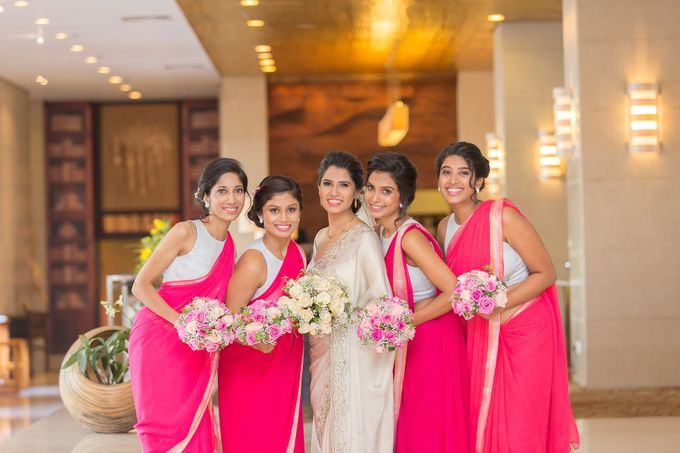 Wedding of Roshani & Charith by DR Creations - 035