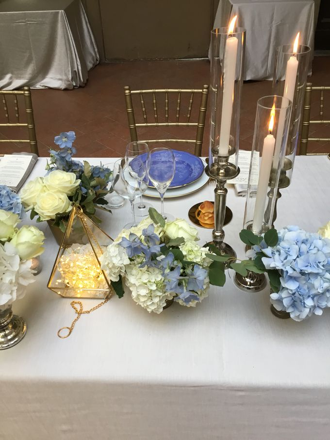 A blue wedding by C&G Wedding and Event Designer - 005