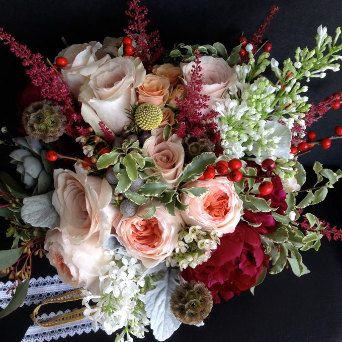 Wedding Bouquet by Jasmine Florist - 007
