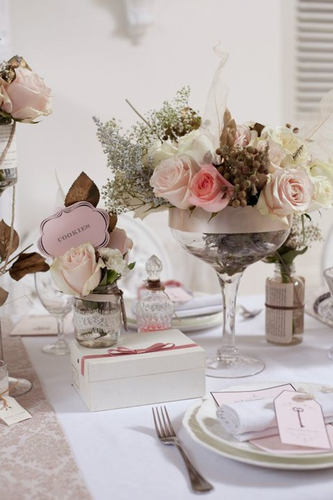 a beautiful dream by Tea Rose Wedding Designer - 017