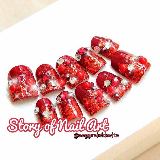 Fake Nails by Story of Nailart - 002