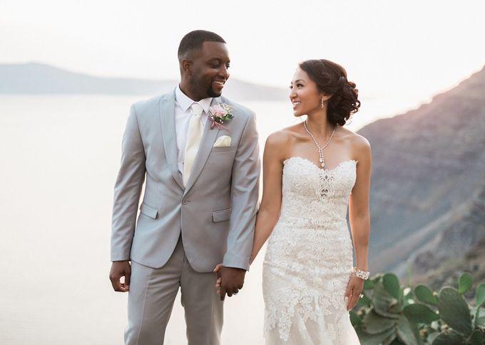Dusty Pink Dream Wedding in Santorini by Stella & Moscha Weddings - 032