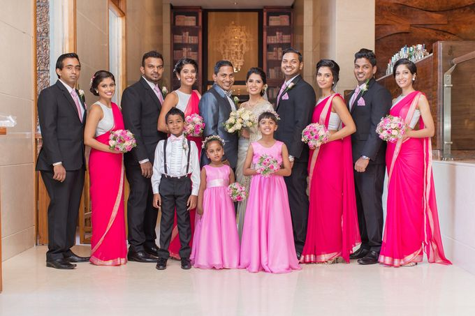 Wedding of Roshani & Charith by DR Creations - 036