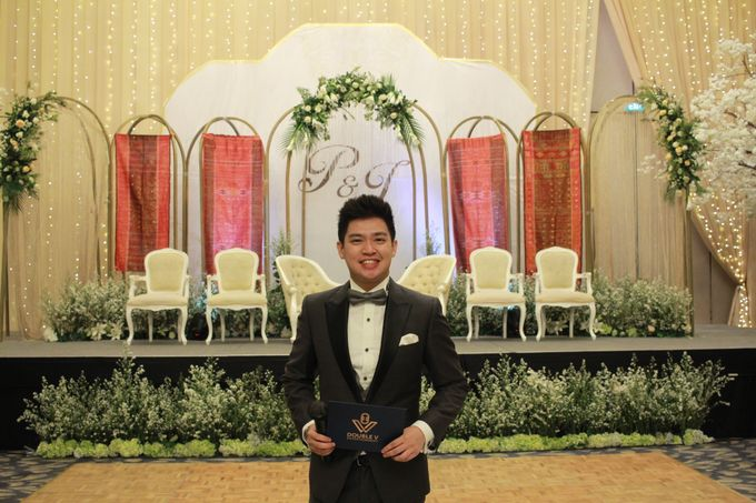 Mc Entertainment Wedding Sheraton Gandaria - Anthony Stevven  with Double V Entertainment Jakarta by Anthony Stevven - 006