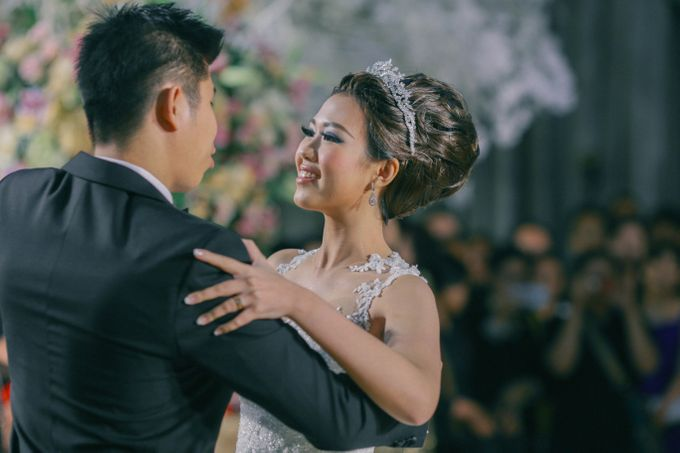 Maurice & Natasya Jakarta Wedding by Ian Vins - 037