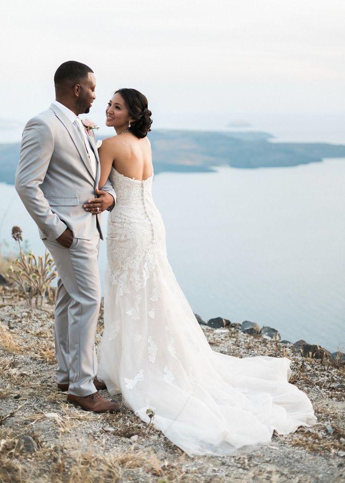 Dusty Pink Dream Wedding in Santorini by Stella & Moscha Weddings - 033