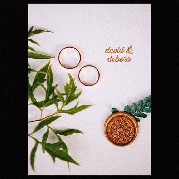 Wedding Ring : David & Debora by The Glint & Glaze - 001