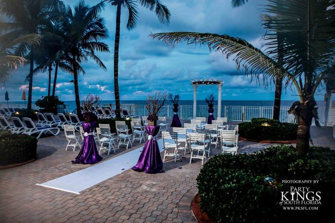 Outdoor Wedding Set up by Ocean Sky Hotel & Resort - 004