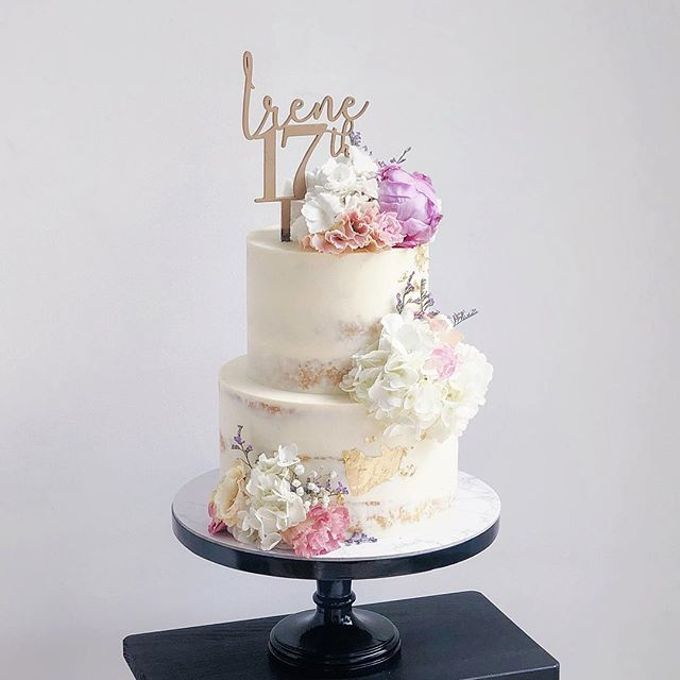 Tiered and Wedding Cakes 2019 by WoodLove - 001